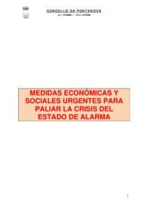 MEDIDAS URGENTES EXTRAORDINARIAS PARA HACER FRENTE AL IMPACTO ECONÓMICO Y SOCIAL DEL COVID-19