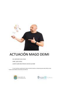 ACTUACIÓN MAGO DEIMI
