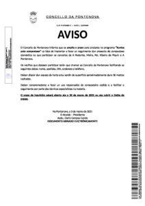 """AVISO AMPLIACIÓN PRAZO ANOTACIÓN PROGRAMA """"XUNTOS POLA COMPOSTAXE"""""""