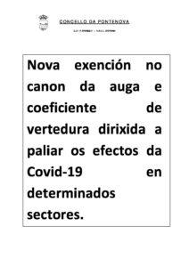 BANDO EXENCIÓN CANON